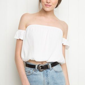 Brandy Melville off the shoulder shirt